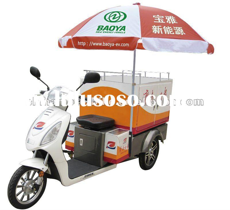 1000W electric tricycle for goods delivery with sealed box