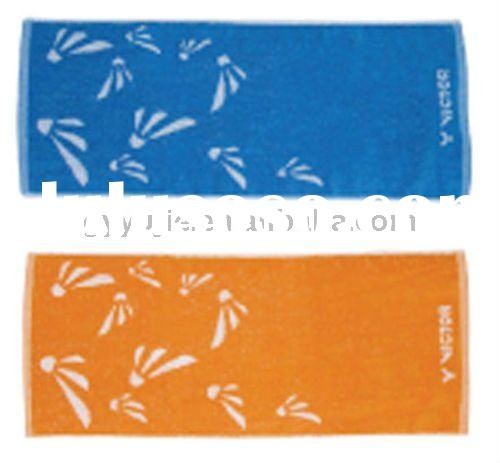100% cotton jacquard sports towel