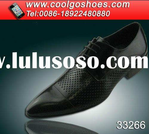 100% handmade fashion men dress leather sole shoes Made in China shoes factory