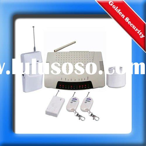 10 Wireless/Wired GSM garage alarm system with TWO-way voice communication