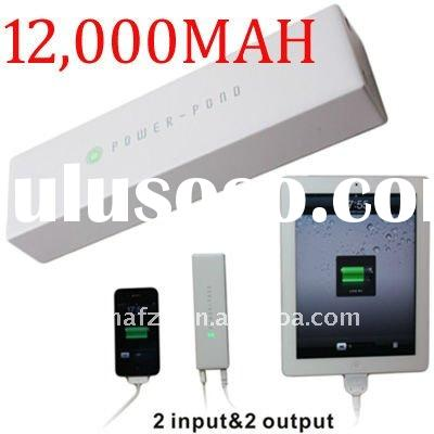 12000mAh Emergency battery for iPad Mobile Phone Portable charger