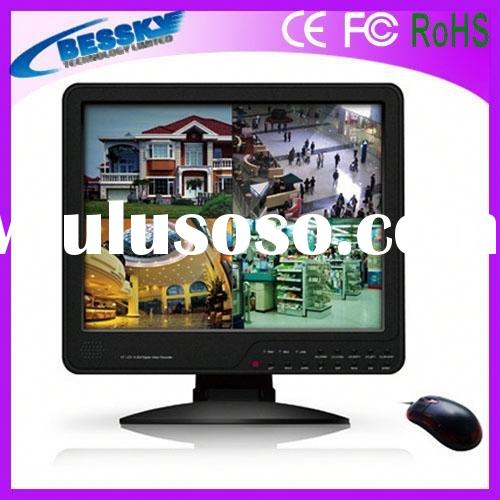 15 Inch LCD all-in-one video recorder dvr hdd player