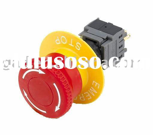 16mm Emergency Stop push buttons(push buttons,Selector Switches)(GA6-16HY-11ZS)