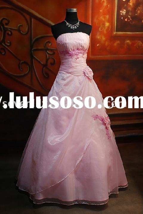 2010 New Style Popular Cheap Fashion pink quinceanera dresses