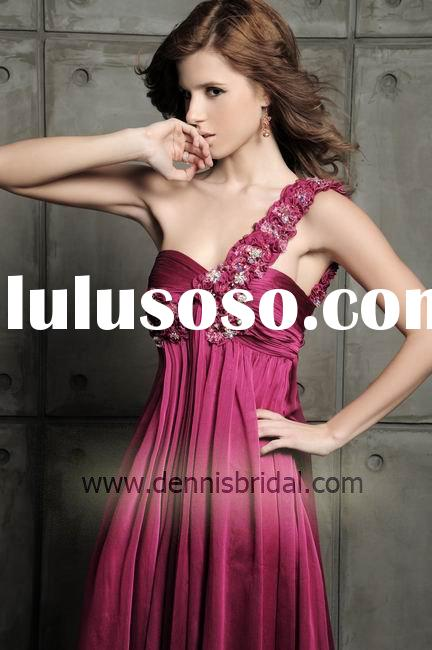 2011 Dennis Best Selling Evening Dresses,China Cheap Wholesale wedding dress, evening dress, party d