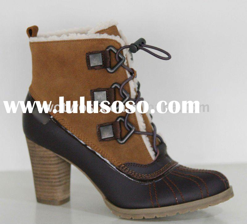 2011 Fashion Lady/Women Leather Boots