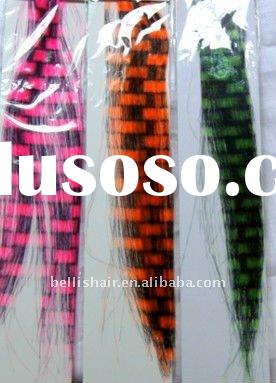 2011 Hot sale feather hair extension