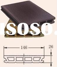 2011 Wood Plastic Composite Floor with High Quality