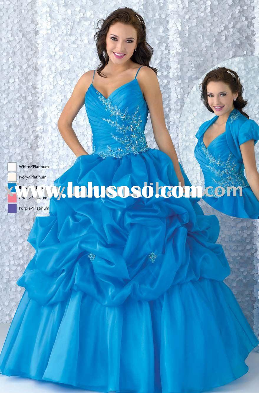 2011 cheap and discount wholesale quinceanera dresses with jacket BOQ-044