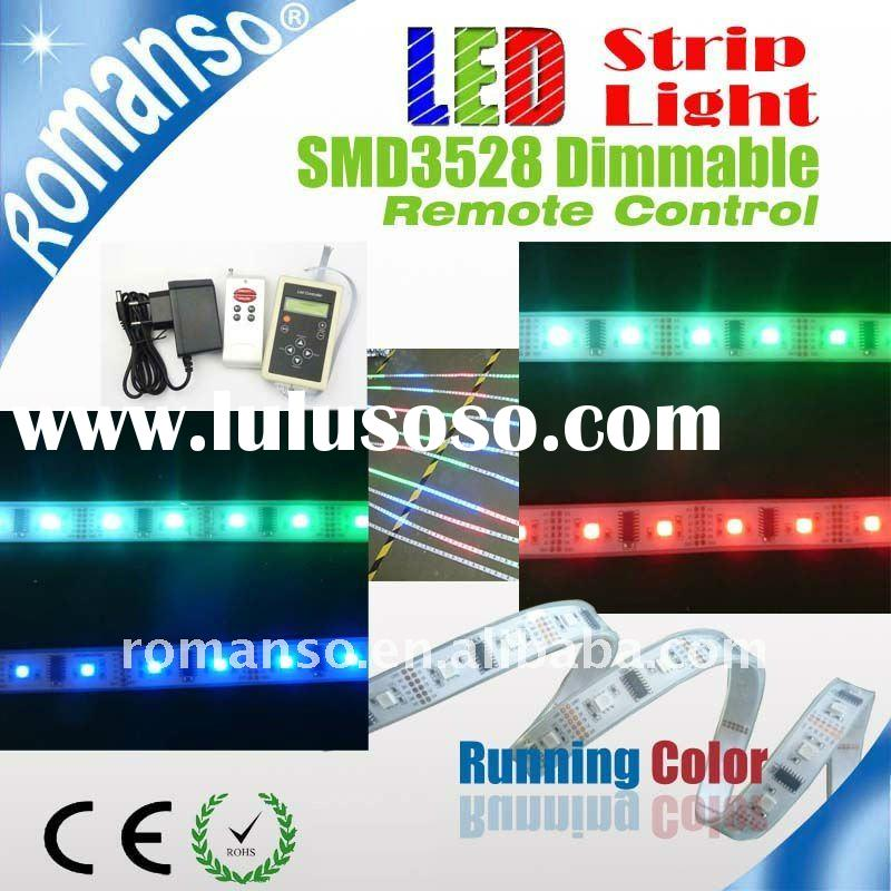 2011 colorful running color flexible led strip
