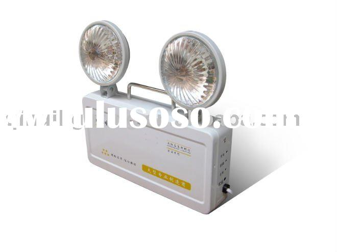 2011 hot sell LED rechargeable twin spots emergency light