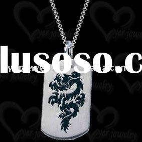 2011 hot sell mens stainless steel dog tag embosser