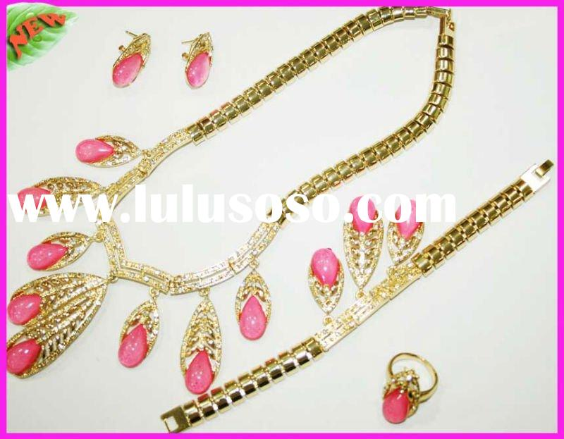 2011 hot-selling alloy costume wedding jewelry set,imitation jewelry set+necklace+competitive price+
