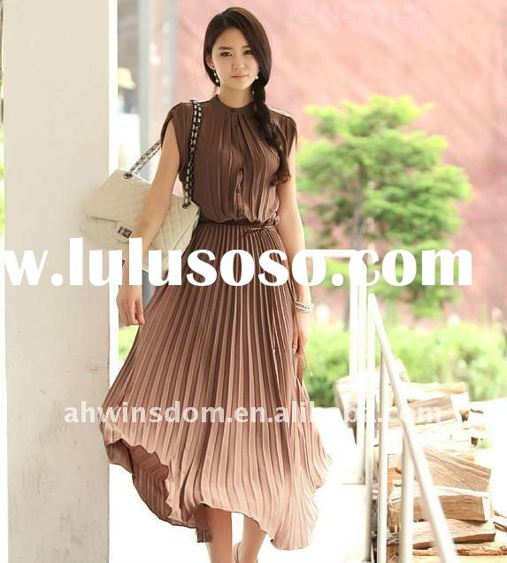 2011 lady's summer fashion and hot long one-piece dress