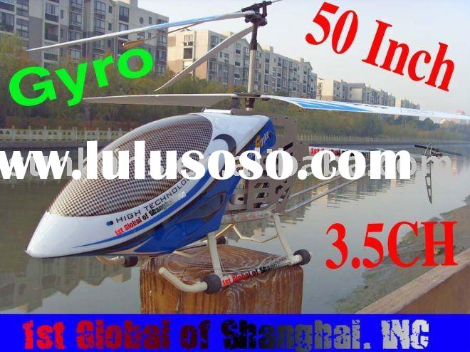 2011 new BIG Rc Helicopter 50Inch 3.5Channel Gyroscope System Metal Frame RC Helicopter Toy with LED