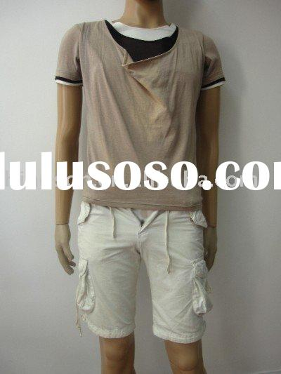 2011 new style men sportswear t-shirt casual wear for men
