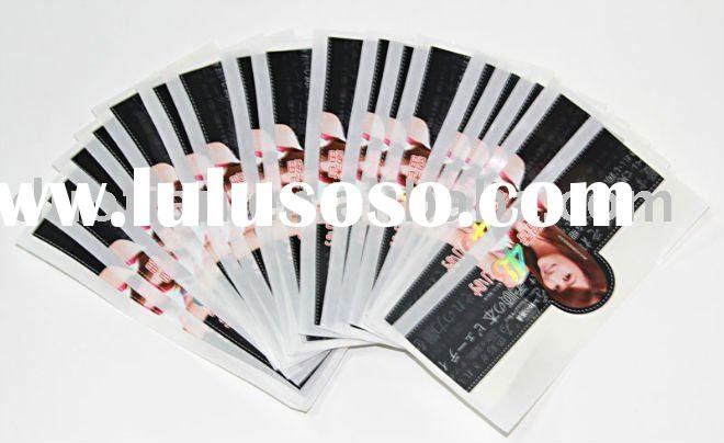 2011 private label cosmetics /stickers with high quality