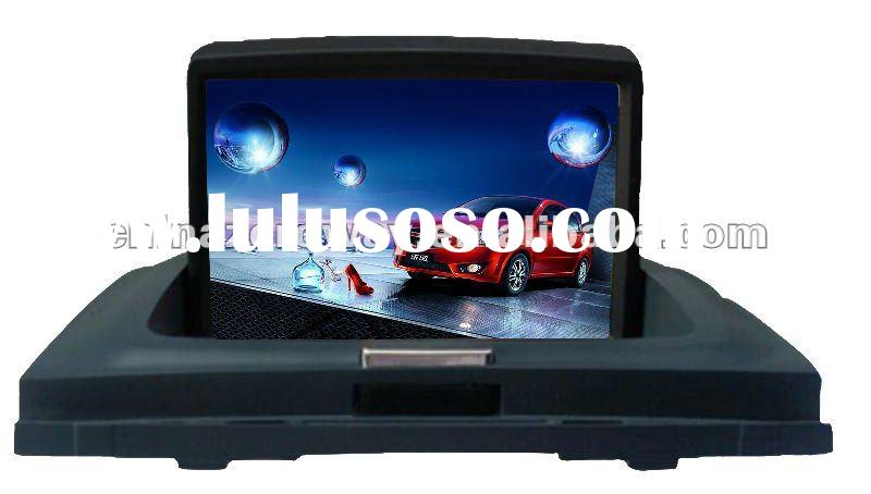 2012 HD touch screen car gps with radio and hifi music in wince 6.0 system