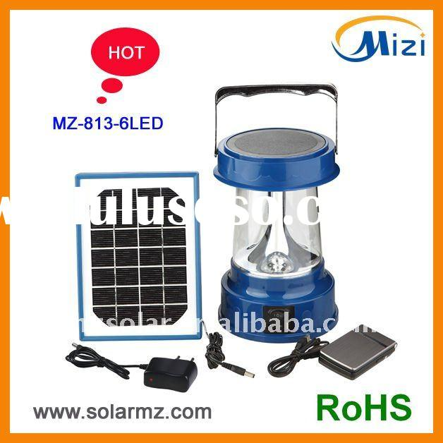 2012 NEW design hot sales rechargeable portable outdoor led camping lantern for fishing, working, ca