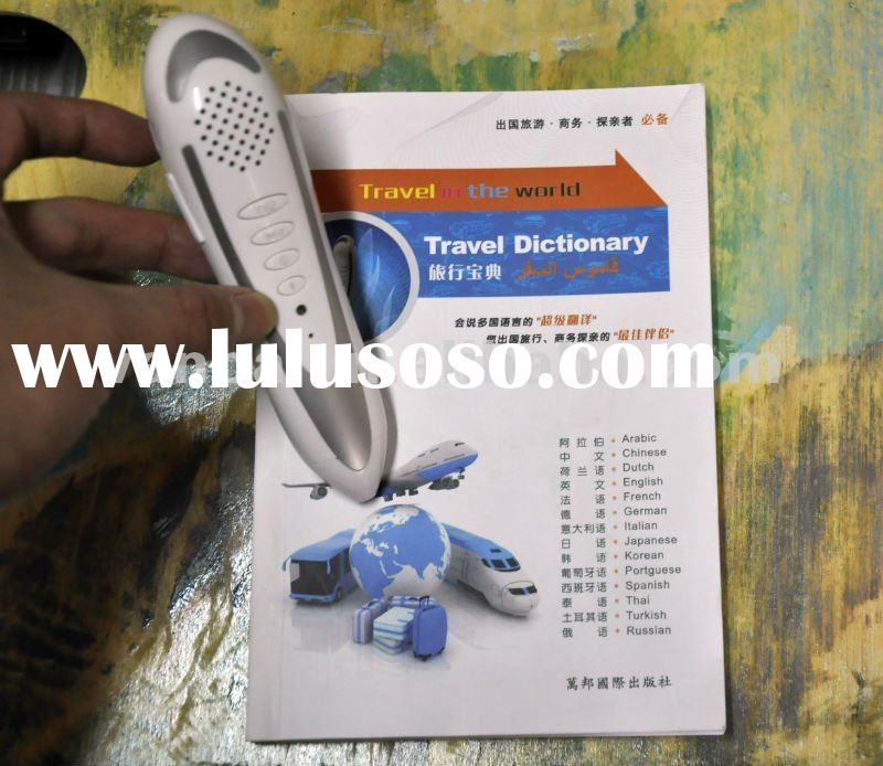 2012 new practical Electronic book for travel/ Travel dictionary