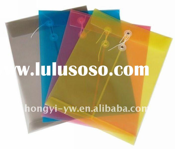 2012 the newest style office and school supplies string envelope