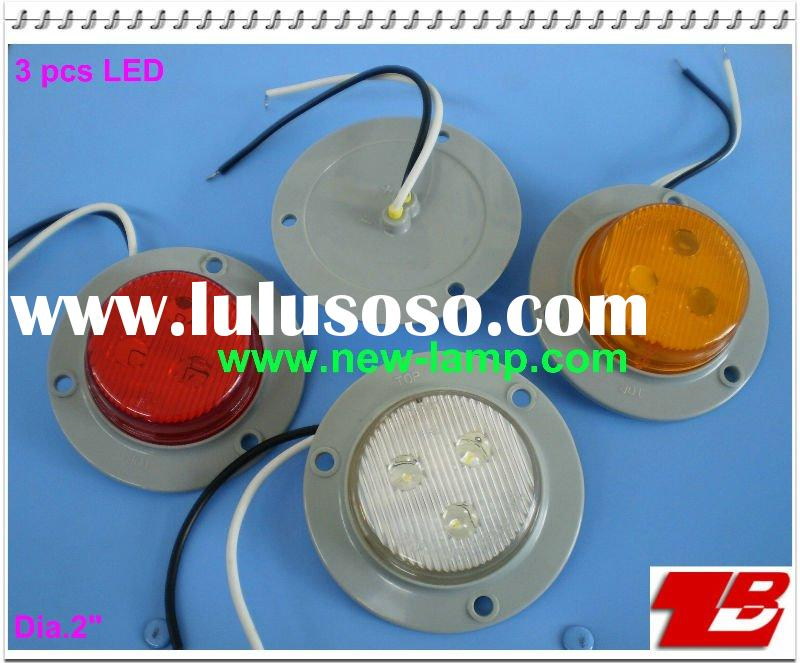 "2"" Round C/M Lamp, LED side marker ,LED clearance lamp, LED identification lamp"