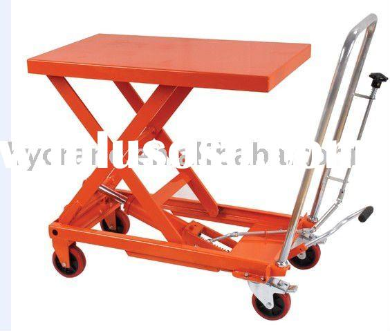 316 Stainless Steel Hydraulic Scissor Lift Tables / Elevating Carts