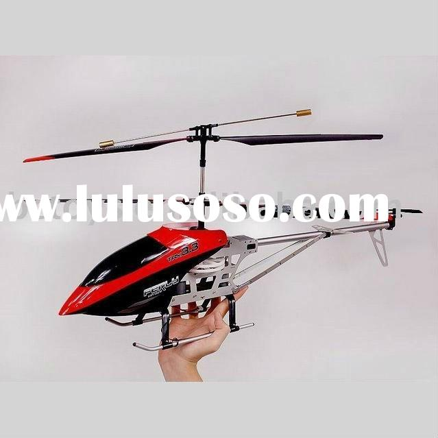3CH big metal indoor outdoor rc helicopter with gyro