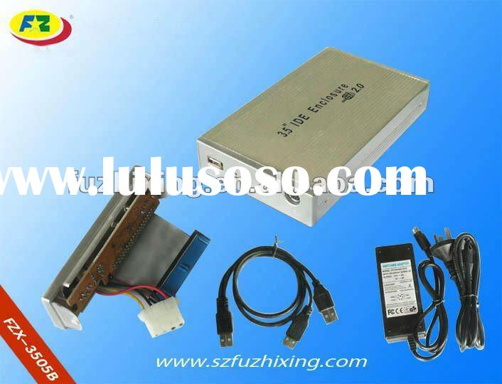 3.5'' IDE external HDD enclosure case with USB2.0