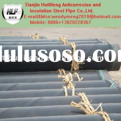 3 layers PE antisepsis steel pipe for water/oil/gas service