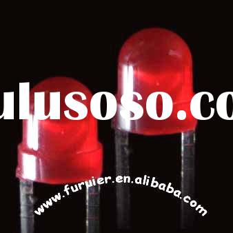 3mm red round led component( high brightness / diffused)