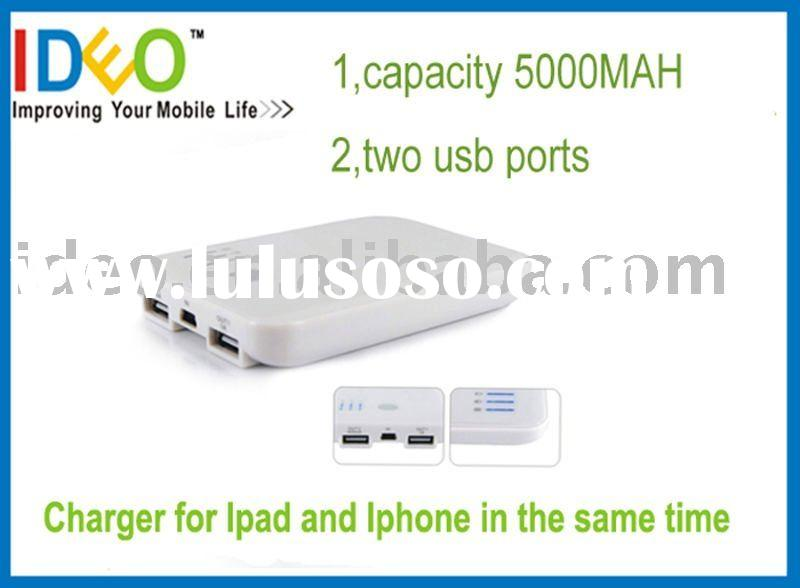 5000 MAH External battery pack for Ipad and Iphone Ipod