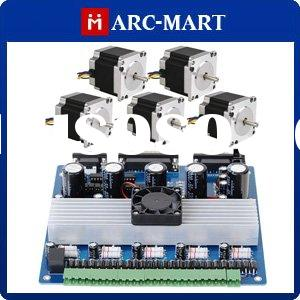 5 Axis CNC Mill kit Stepping Motor Drive Board + NAME23 Step motor 18.9kgf.cm #UC066