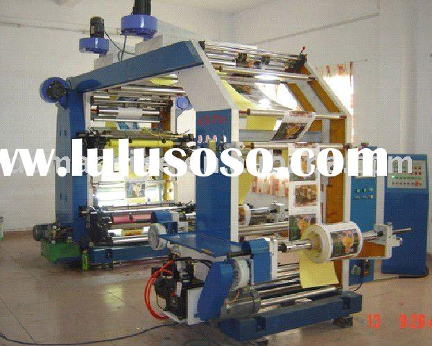 6 colors film flexo printing machine