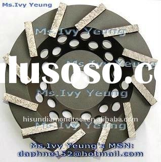 7'' Turbo diamond cup grinding wheel for concrete