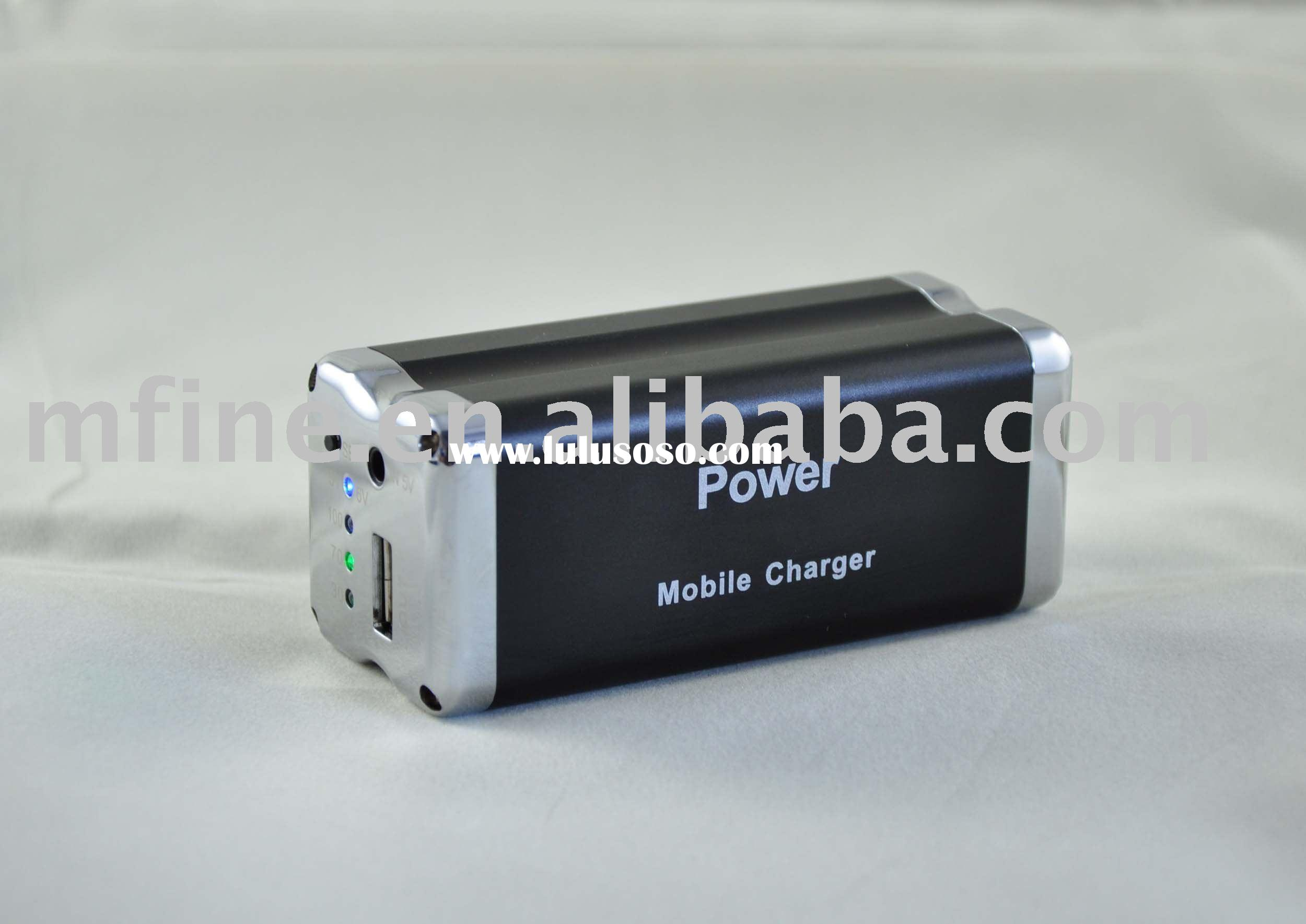 9000mAh 5V / 6V Universal External battery Pack for iPad / iPhone 3G/3GS/ iPhone 4/ iPod