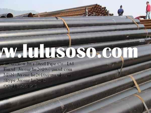 API 5L Gr.X52 ERW Carbon Welded Gas Distribution Pipeline
