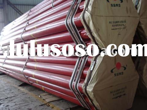 A 106 Gr.B hot hipped galvanized carbon seamless steel pipe