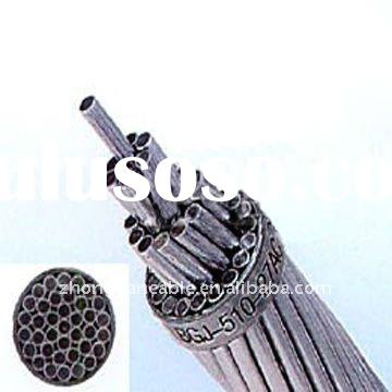 Aluminum clad steel wire used for overhead circuit