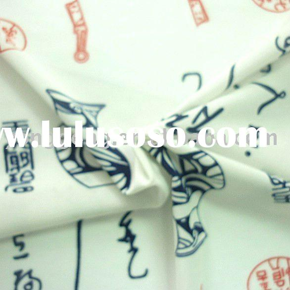 Ancient Printed Nylon Lycra Stretch Fabric