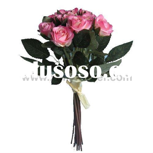 Artificial Wedding Flower Bouquet (Mini Rose Bouquet)
