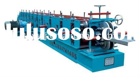Automatic C -purlin roll forming machine