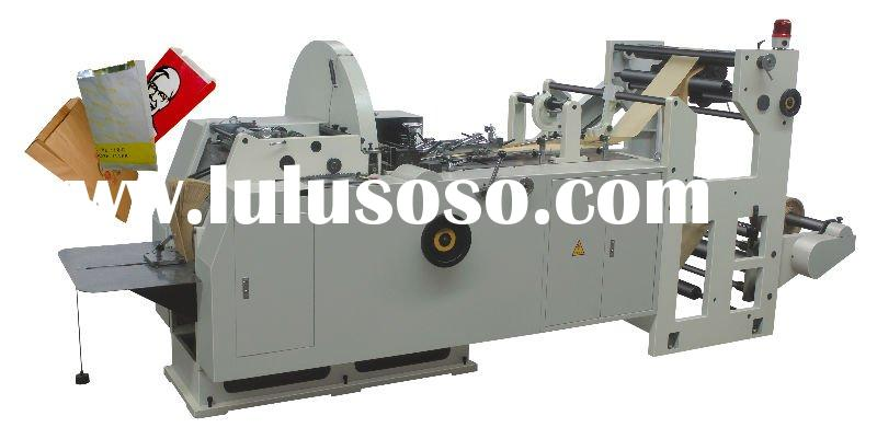 Automatic Food Paper Bag Making Machine (Line bottom)