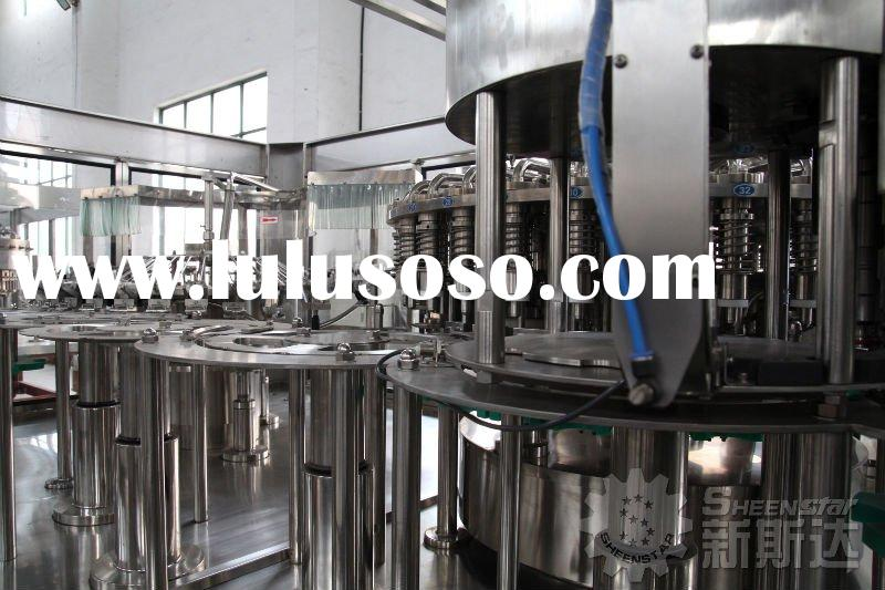 Automatic Pure water washing filling capping machine