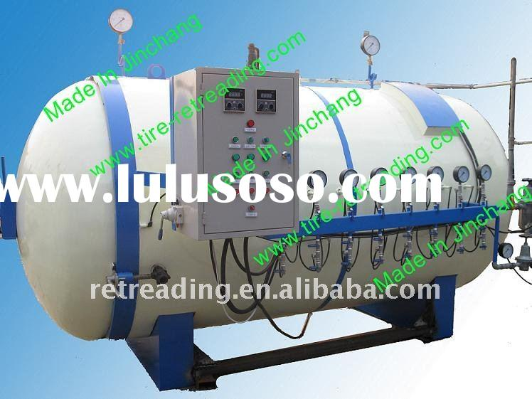Automatic Used Tyre recycling machine-curing chamber