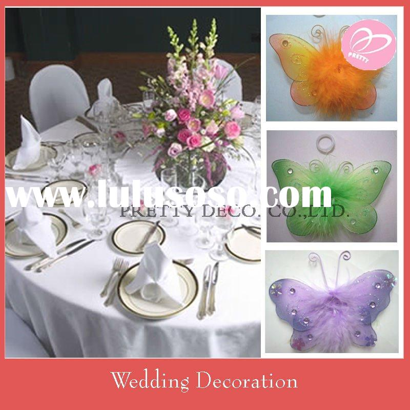 Butterfly wedding table decoration
