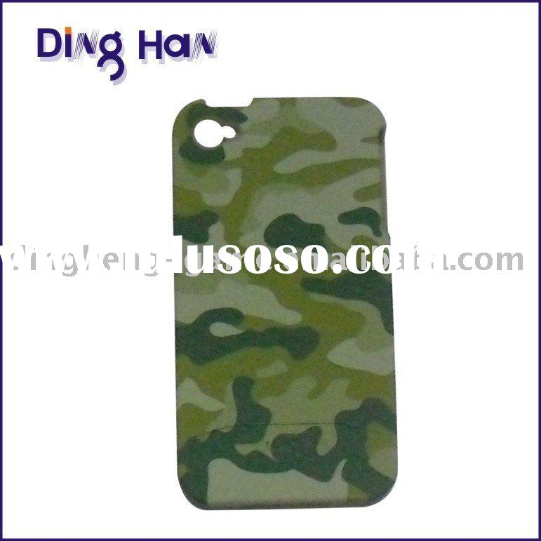 Camouflage style back cover for iphone 4G----mobile phone case for Apple iphone 4G