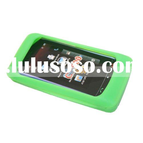 Cell Phone Silicone Case For LG xenon GR500 Green