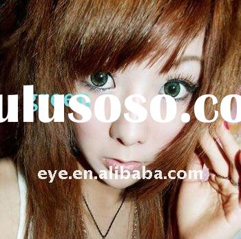 Circle Lenses GEO Soft Cosmetic Green Contact Lens 6 Color Mixed 14mm Eye Contacts