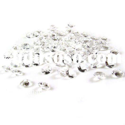 Clear Diamond Wedding Acrylic Table Scatter Crystal Confetti DC0083-YAE